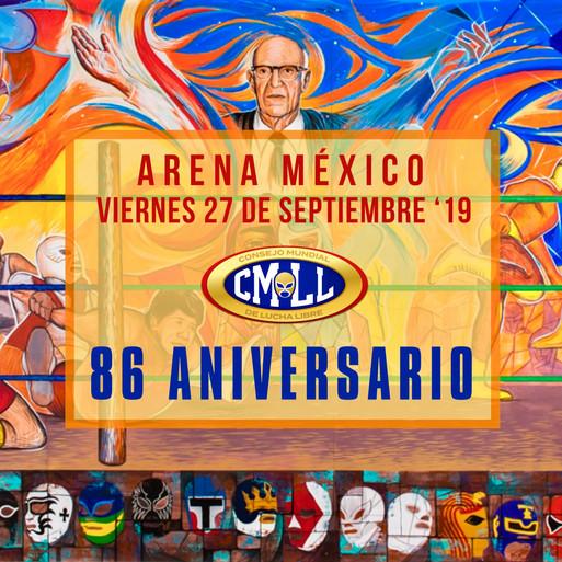 CMLL 86 Aniversario