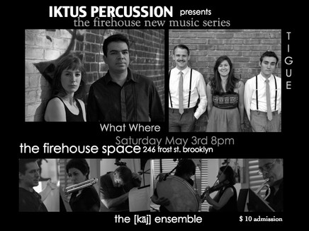 The Firehouse New Music Series
