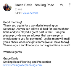 Grace Media Thank You Note