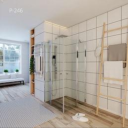 מקלחון פינתי - p246