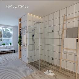 מקלחון פינתי - PG136PG138