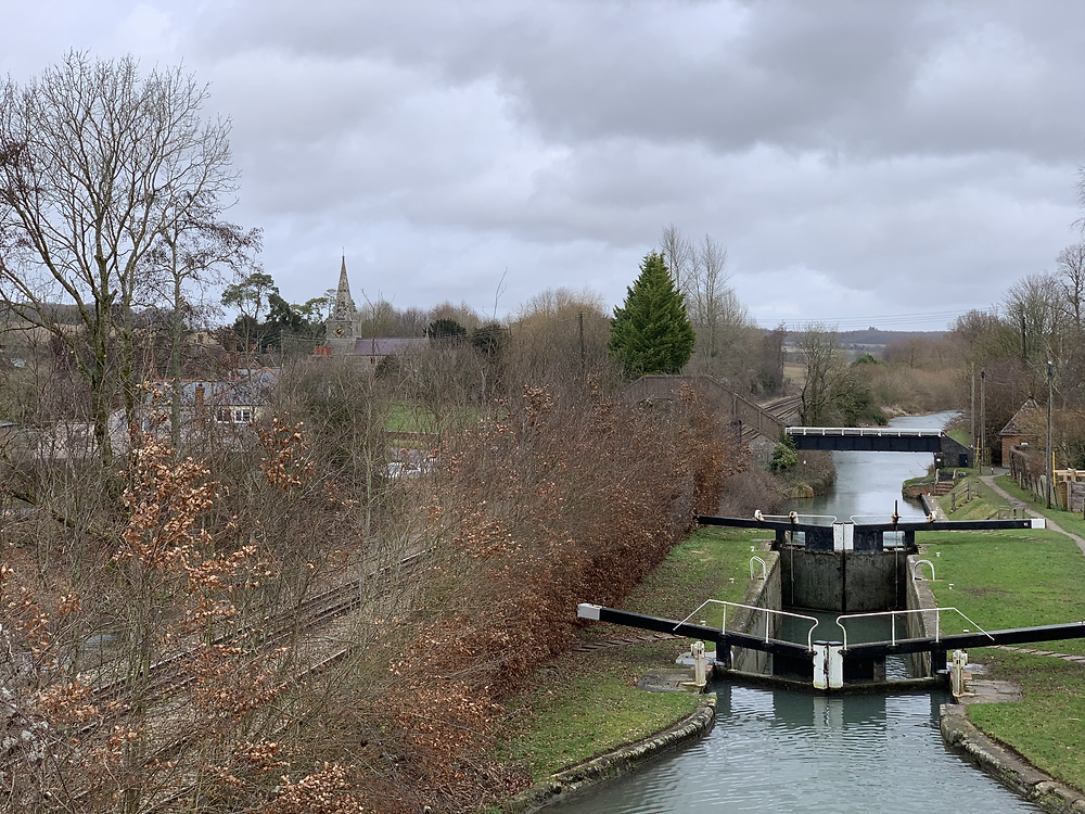 Little Bedwyn Lock and Church