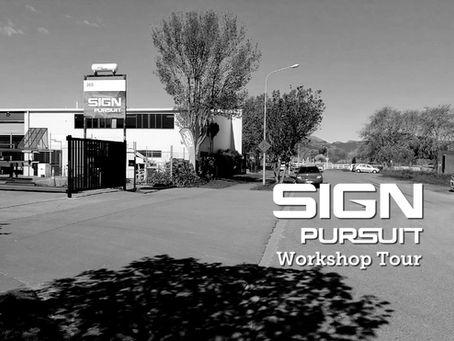 Workshop Tour...