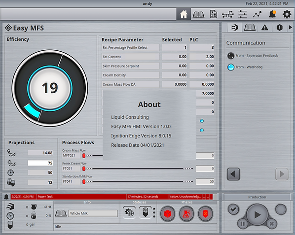 2.3.3 GRAPHICAL USER INTERFACE - SCADAHM