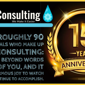 Liquid Consulting is 15 years old