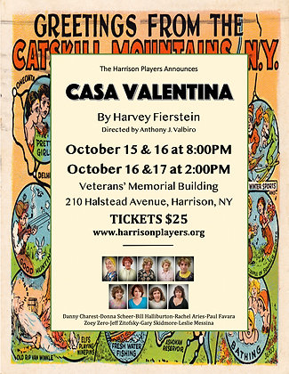 BACK COVER of CASA VALENTINA Program
