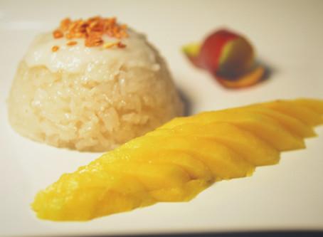 Dulce Tailandia, Dulce arroz con mango