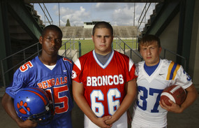 BR High School football