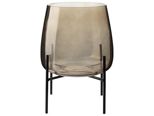 Gusta - Glazen vaas met standaard