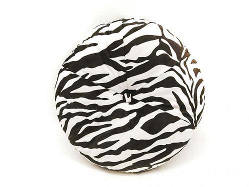 HV - Kussen zebra rond