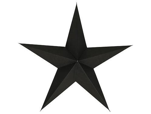 Gusta - Opvouwbare ster zwart