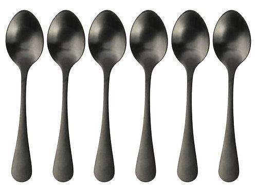 Gusta - Koffielepeltjes zwart