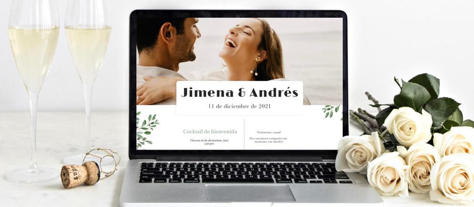 7 razones para tener una página de boda