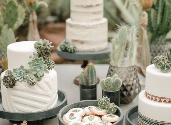 Inspírate: 8 pasteles con flores silvestres