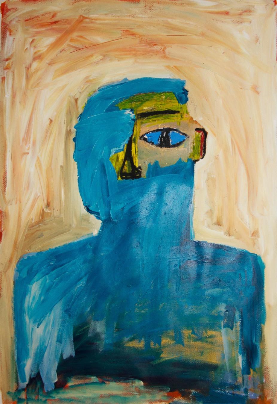 Self Portrait (blue)