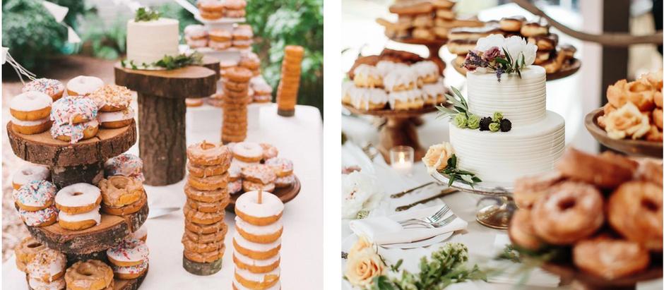 Donut Bars: Cómo incorporar estas delicias el gran día!