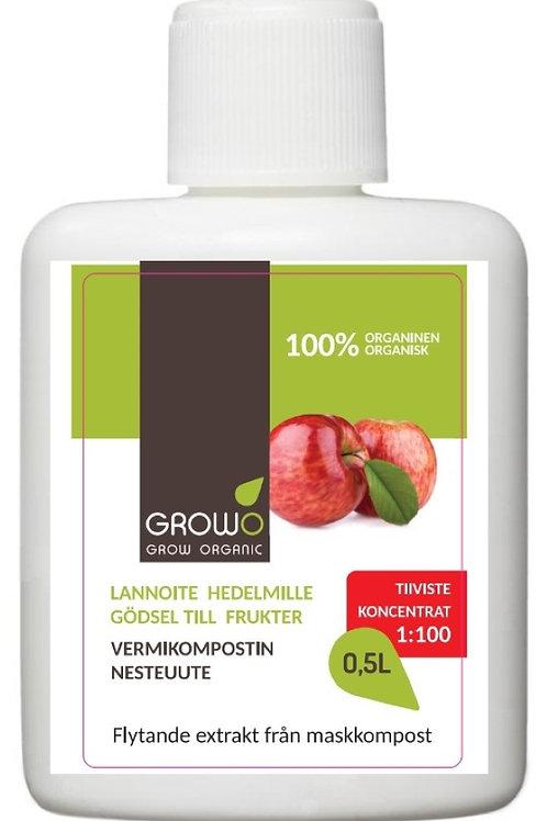 GROWO Vermikompostiuute hedelmille