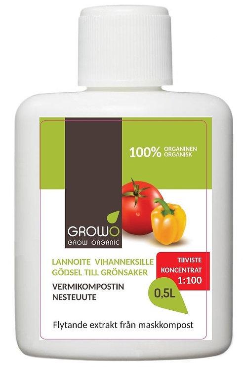 GROWO Vermikompostiuute vihanneksille