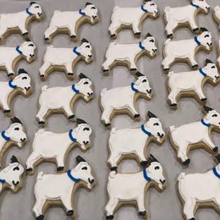 Goat Sugar Cookies