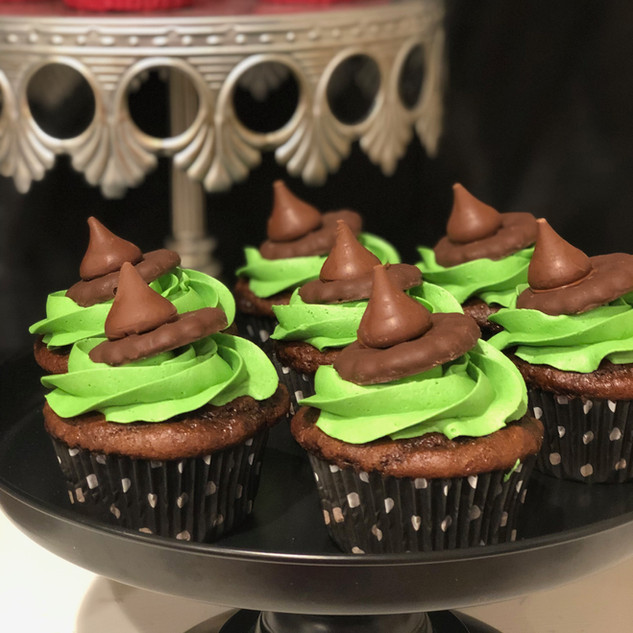 Elphaba Cupcakes