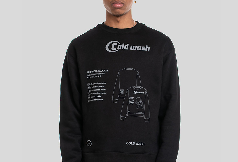 'TECH-PACK' SWEATSHIRT