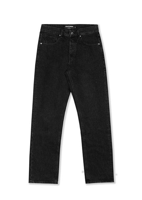 5-Pocket Jeans - Rinsed Black