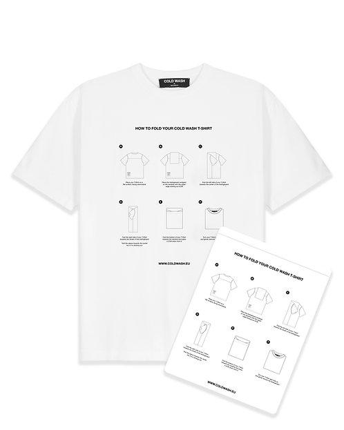 Foldingboard T-Shirt - White