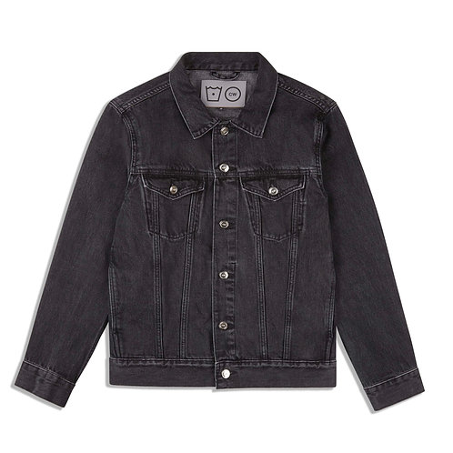 STONEWASHED LOGO DENIM JACKET