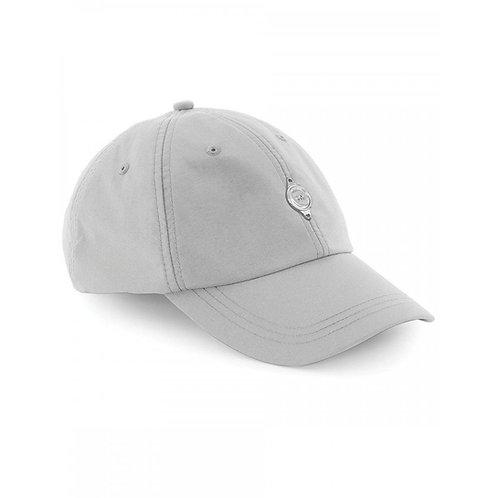Metal Plate Cap - Grey