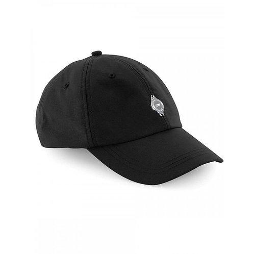 Metal Plate Cap - Black