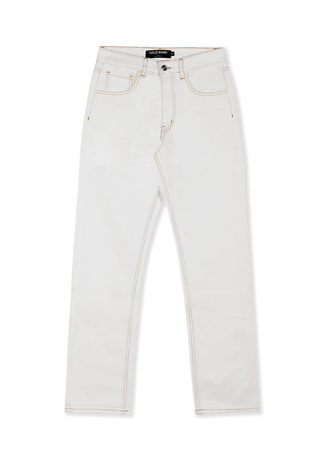 5-Pocket Jeans - White