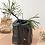 Thumbnail: obsidian hand built rock bud vase