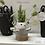 Thumbnail: floral form flower frog vase
