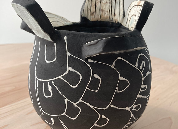 Silhouette Bowl Vase 3