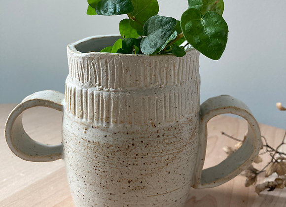 ribbon planter mug