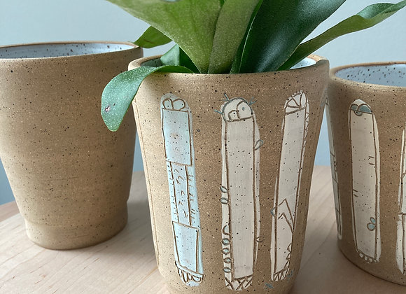 carved planter vase 2