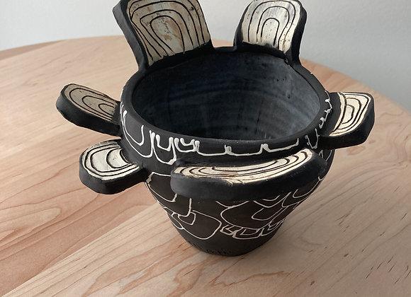 Silhouette Bowl Vase 1