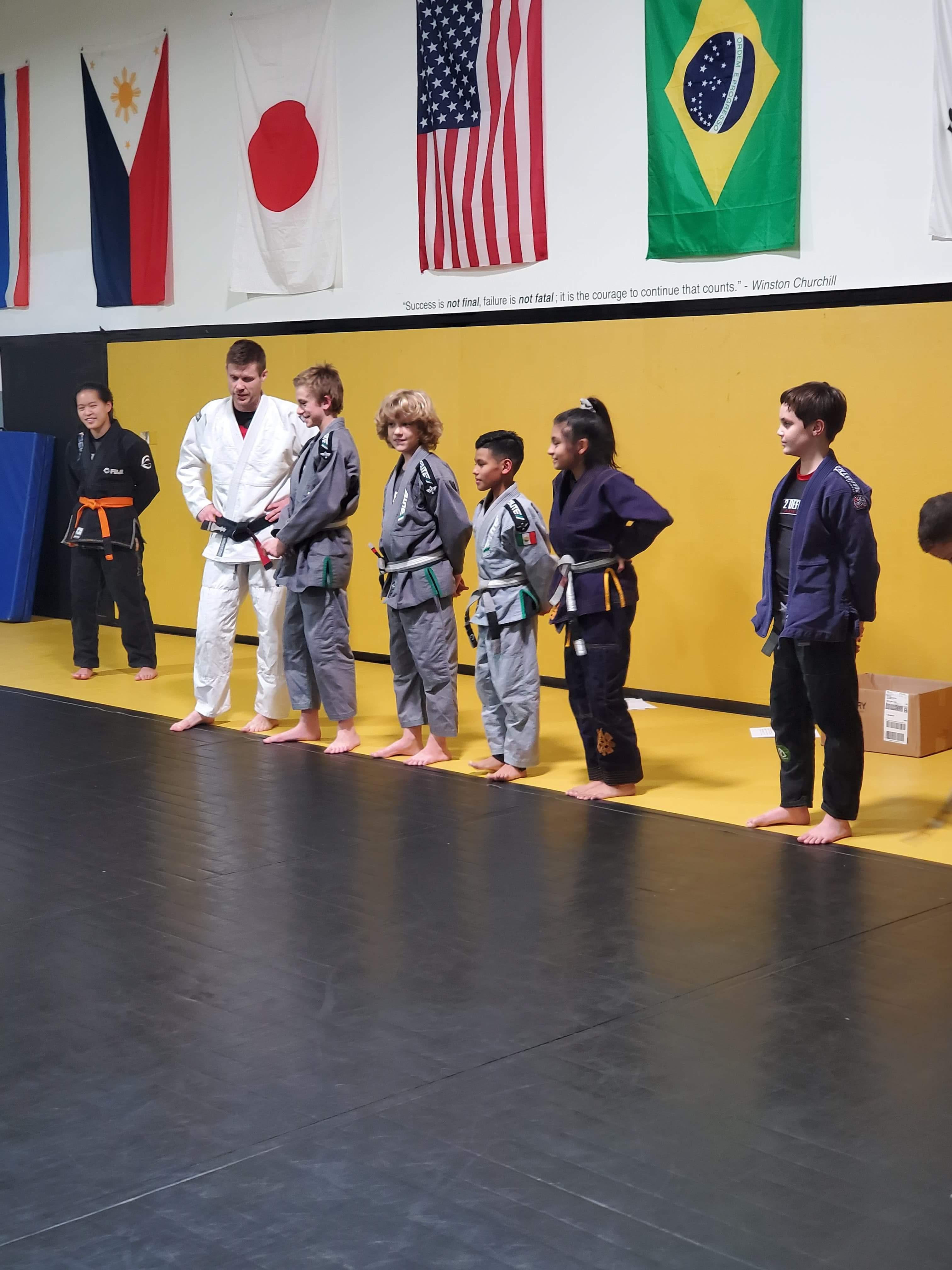 Youth Brazilian Jiu-Jitsu class