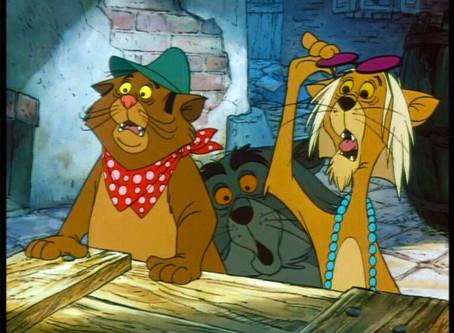 Disney's Aristocats is really an Art Film.