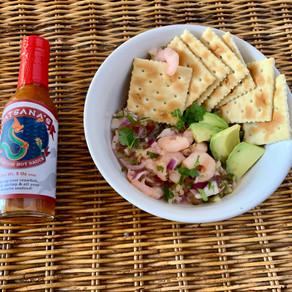 Recipe: Shrimp Ceviche and Avocado