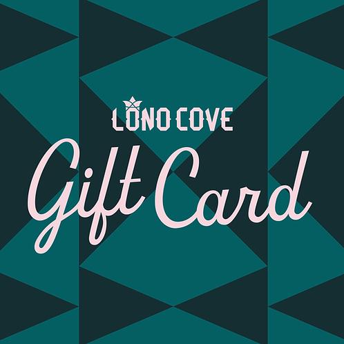 Lono Cove Gift Card