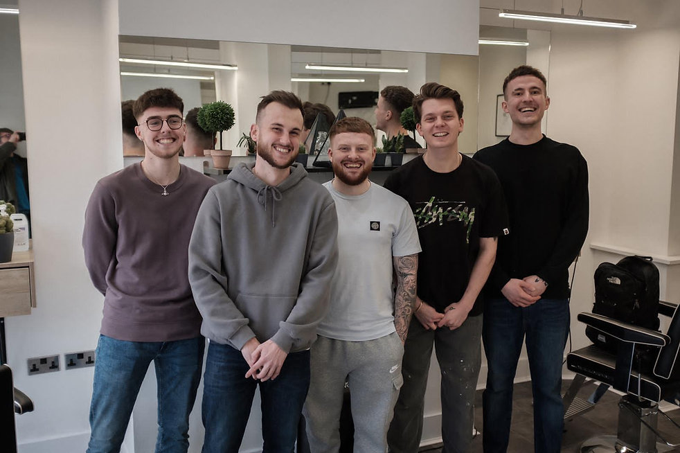 The Team at The Mardy Barber.JPG