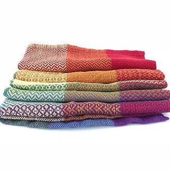 Handwoven cotton tea towel