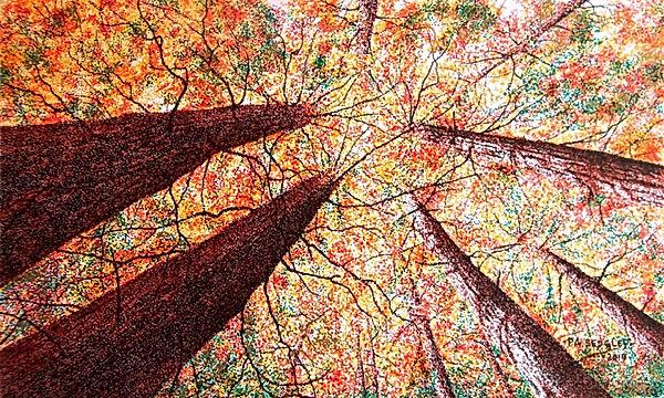 As Autumn Calls II         6 x 10ins