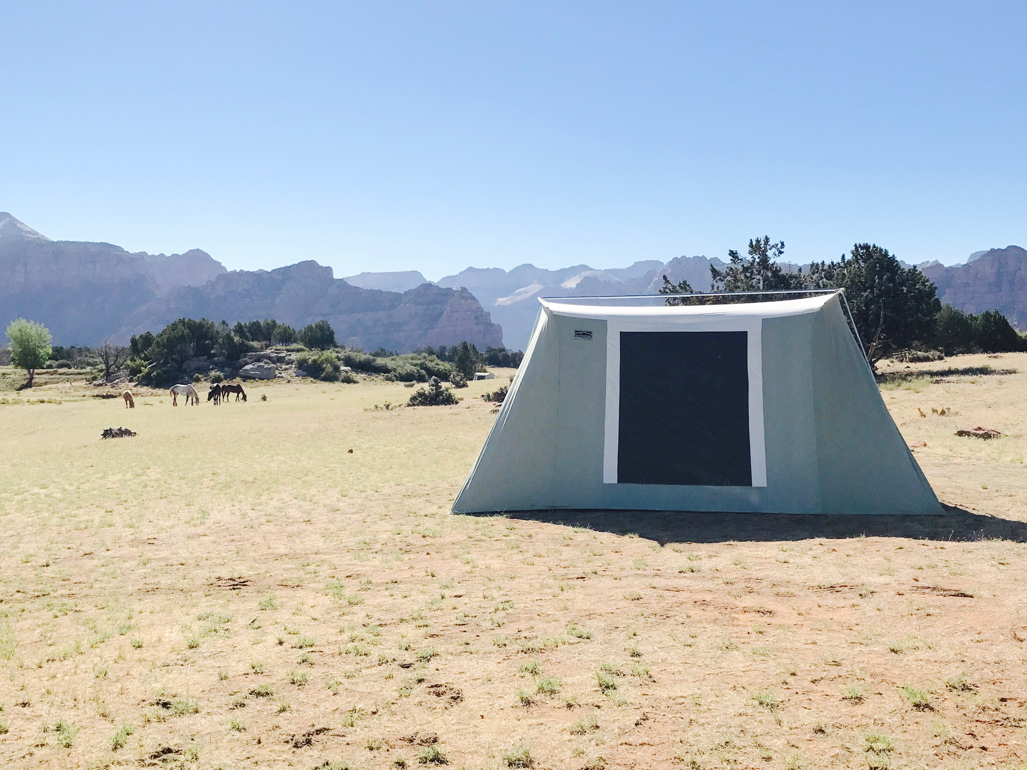 Lux Furnished Tent u0026 C&site & Lux Furnished Tent u0026 Campsite | Zion National Park Camping