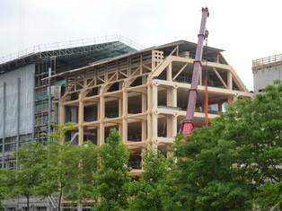 砌積木的大廈—Tamedia new office building