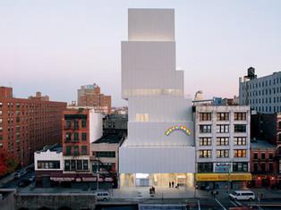 像白面包一樣的建築物- New museum of contemporary art, New york