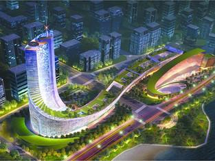 與鳳的建築—安徽廣電中心