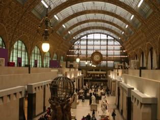 由火車站變身而成的博物館—Museum of Orsay