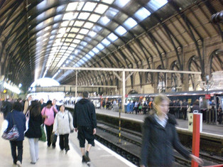 King's cross station –Platform 93/4